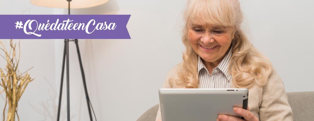 terapia de lenguaje y aprendizaje para adultos mayores desde casa