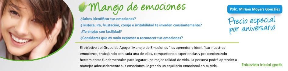 manejo de emociones