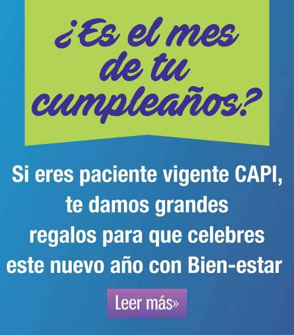 Promociones para pacientes vigentes CAPI