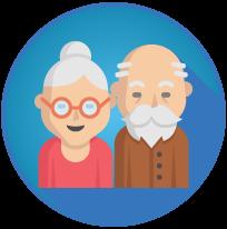 Pláticas en línea sobre tercera edad. Psicologos df