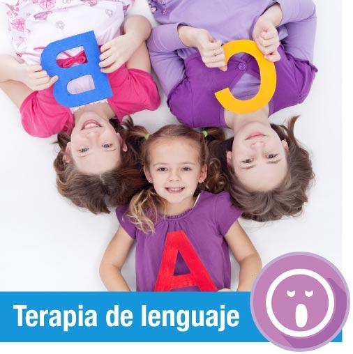 terapia de lenguaje infantil